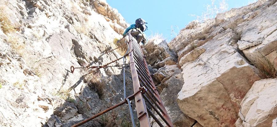 Klettersteig Fennberg wieder geöffnet