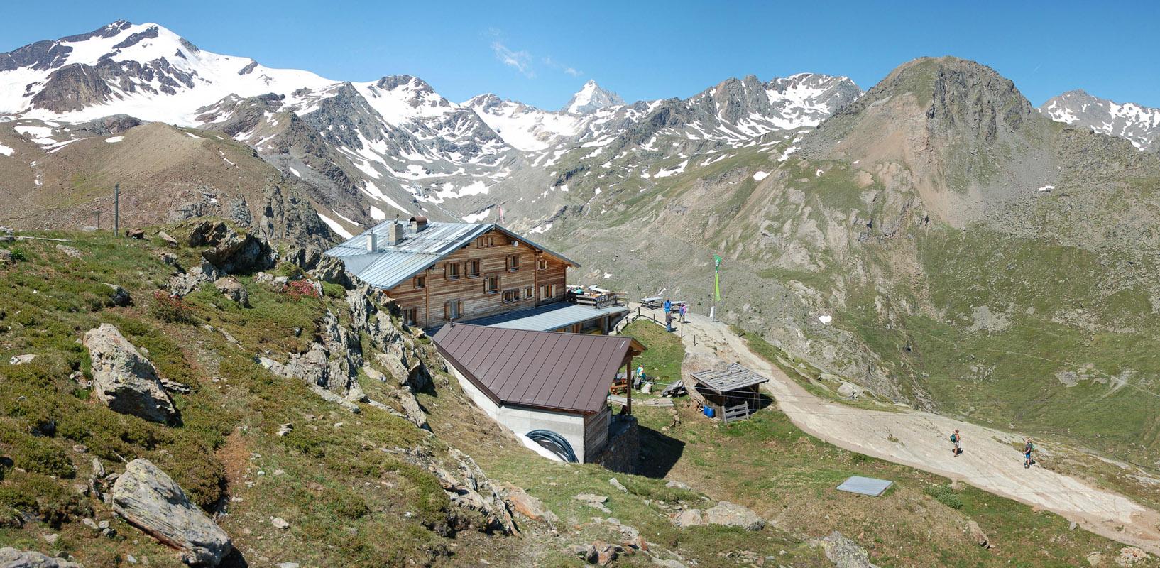 Die Marteller Hütte (2.585 m)