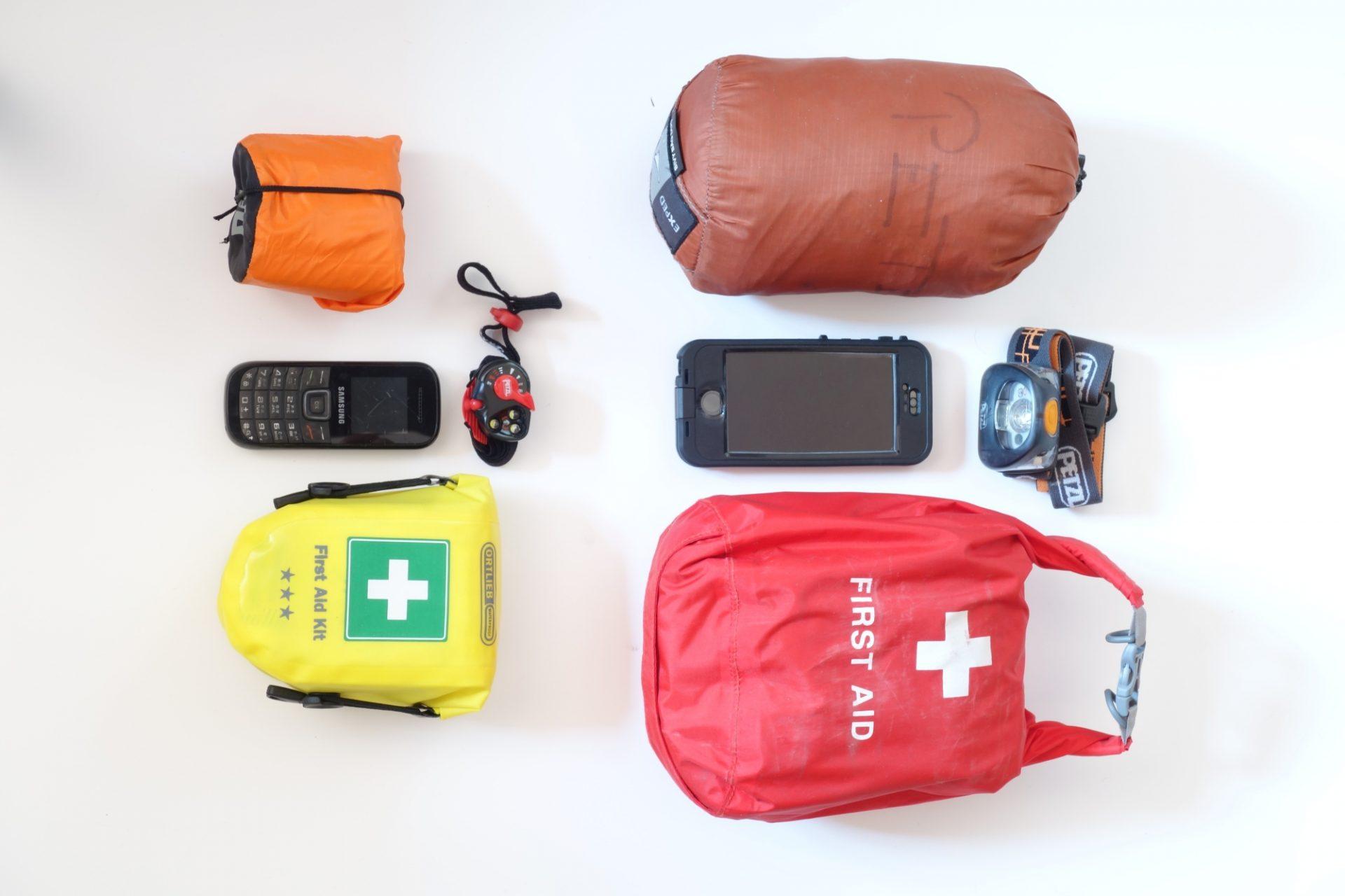 Notfallausrüstung © Peter Plattner