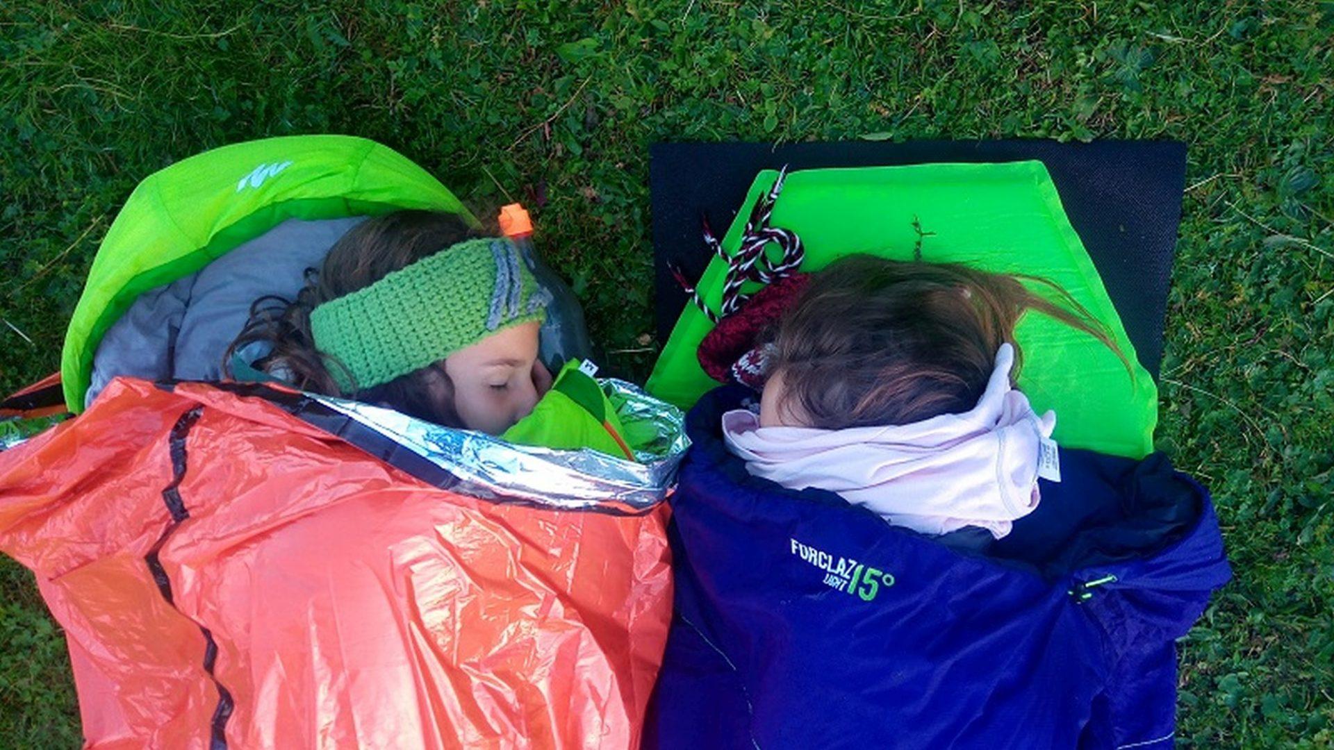 Schlafsack Isomatte © AVS Jugend Tiers
