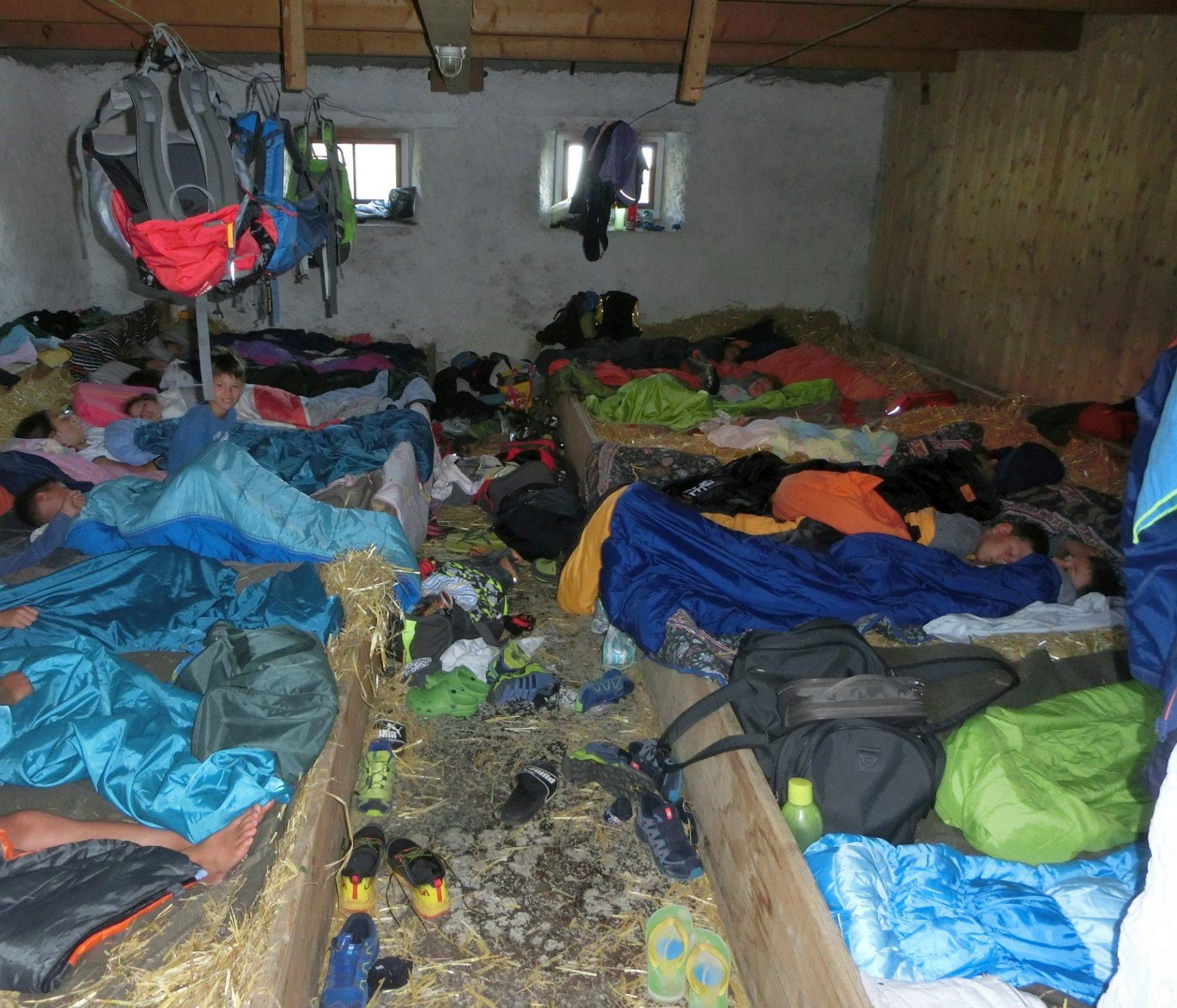 Schlafsäcke © AVS Jugend Salurn