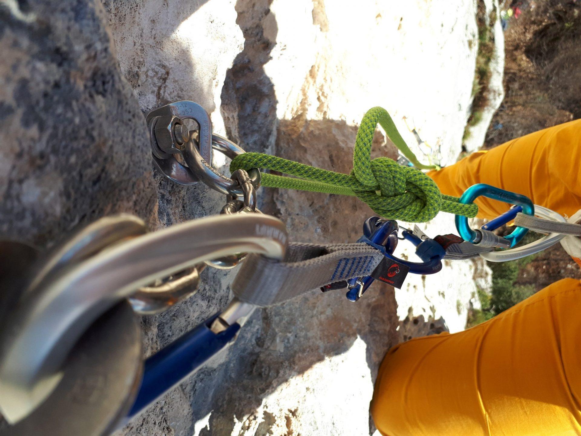 Bergsteigertipp: Sicher Umfädeln
