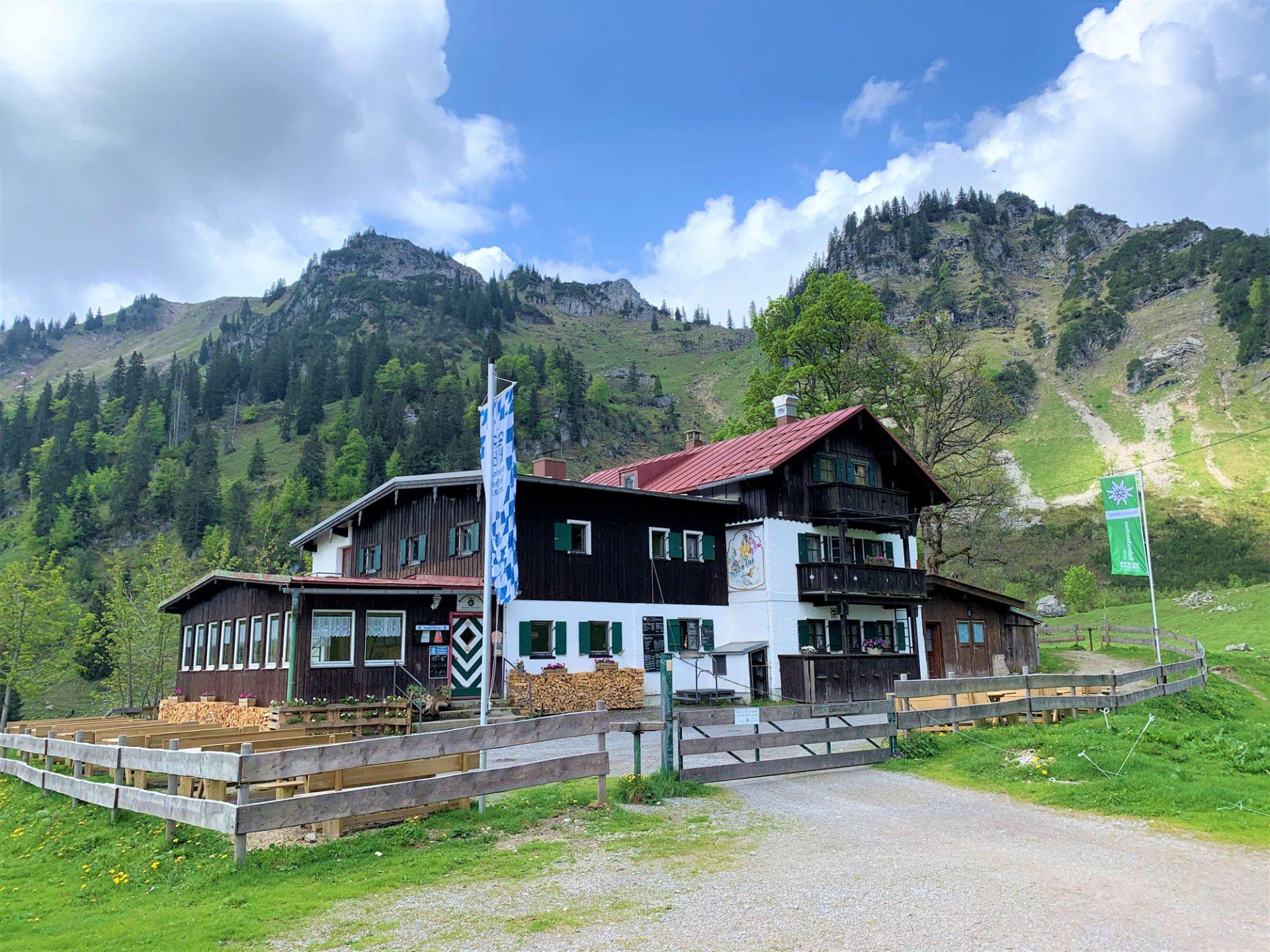 Das Bodenschneidhaus (1365 m)