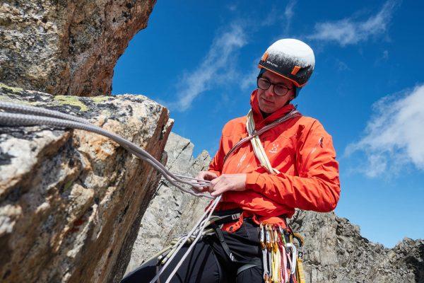 Alpinist: Granit und Tonalit © Martin Dejori