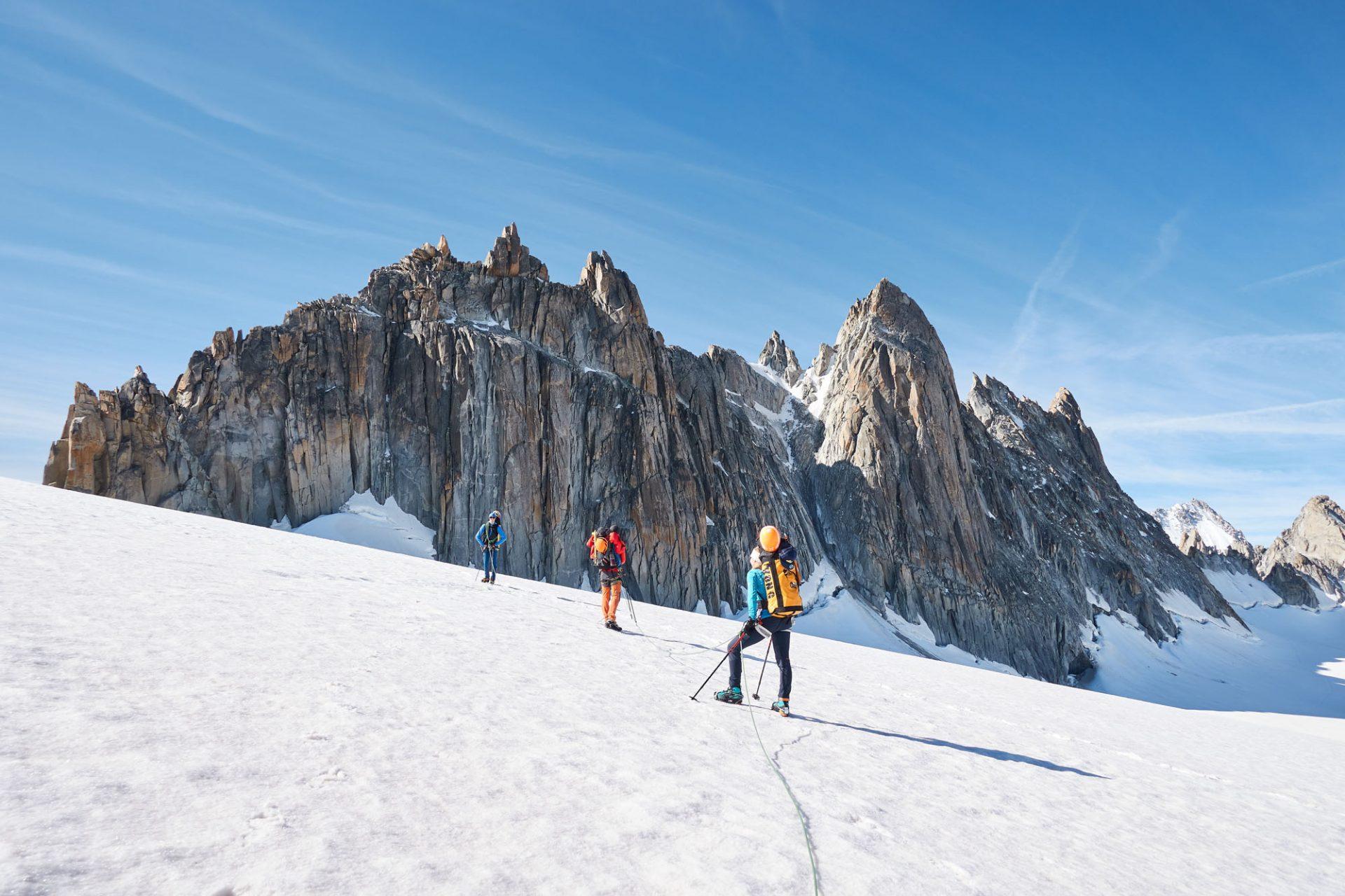 ALPINIST: Aiguilles Dorées mit dem Projekt Alpinist