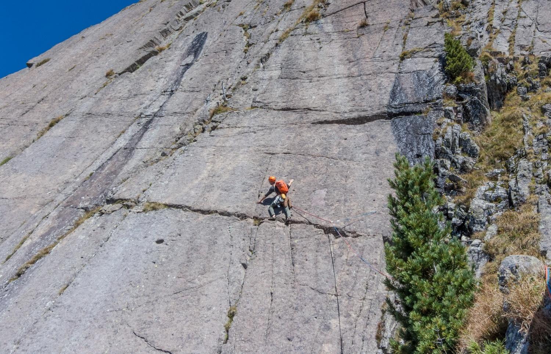Alpinklettern an der Sarner Scharte: Zur Erinnerung an Ochar Sepp