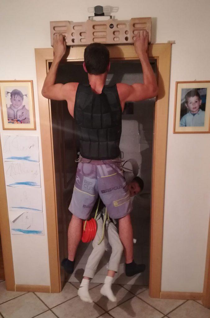 Training mit Zusatzgewicht (c) Egon Raffeiner