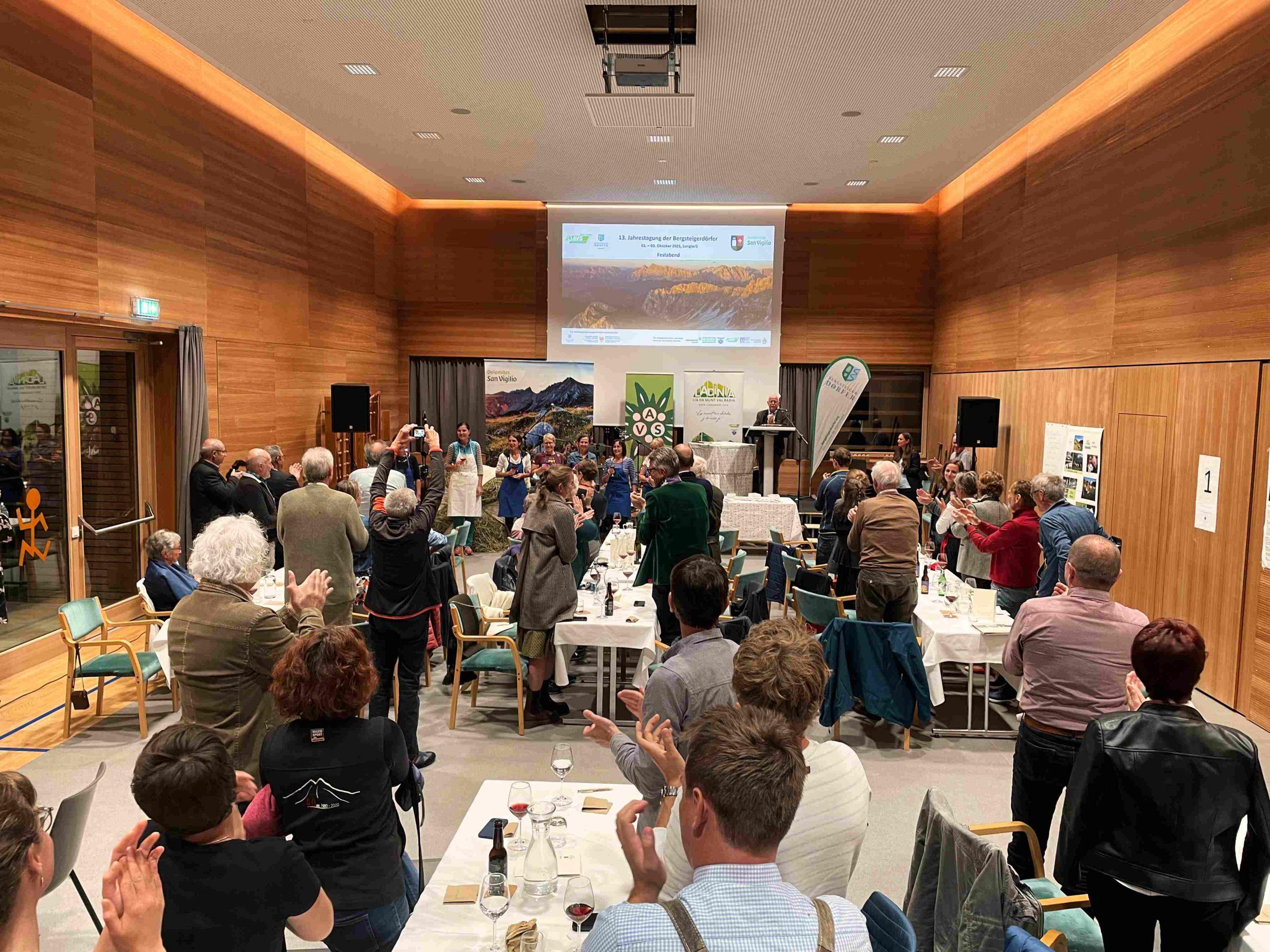 Applaus für die Küche I ©Ingo Ortner, Bergsteigerdorf Mauthen I Bergsteigerdörfer