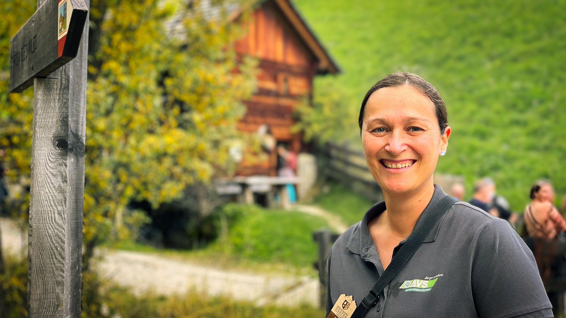 Anna Pichler, AVS-Projektkoordinatorin Bergsteigerdörfer I ©Ingo Ortner, Bergsteigerdorf Mauthen I Bergsteigerdörfer