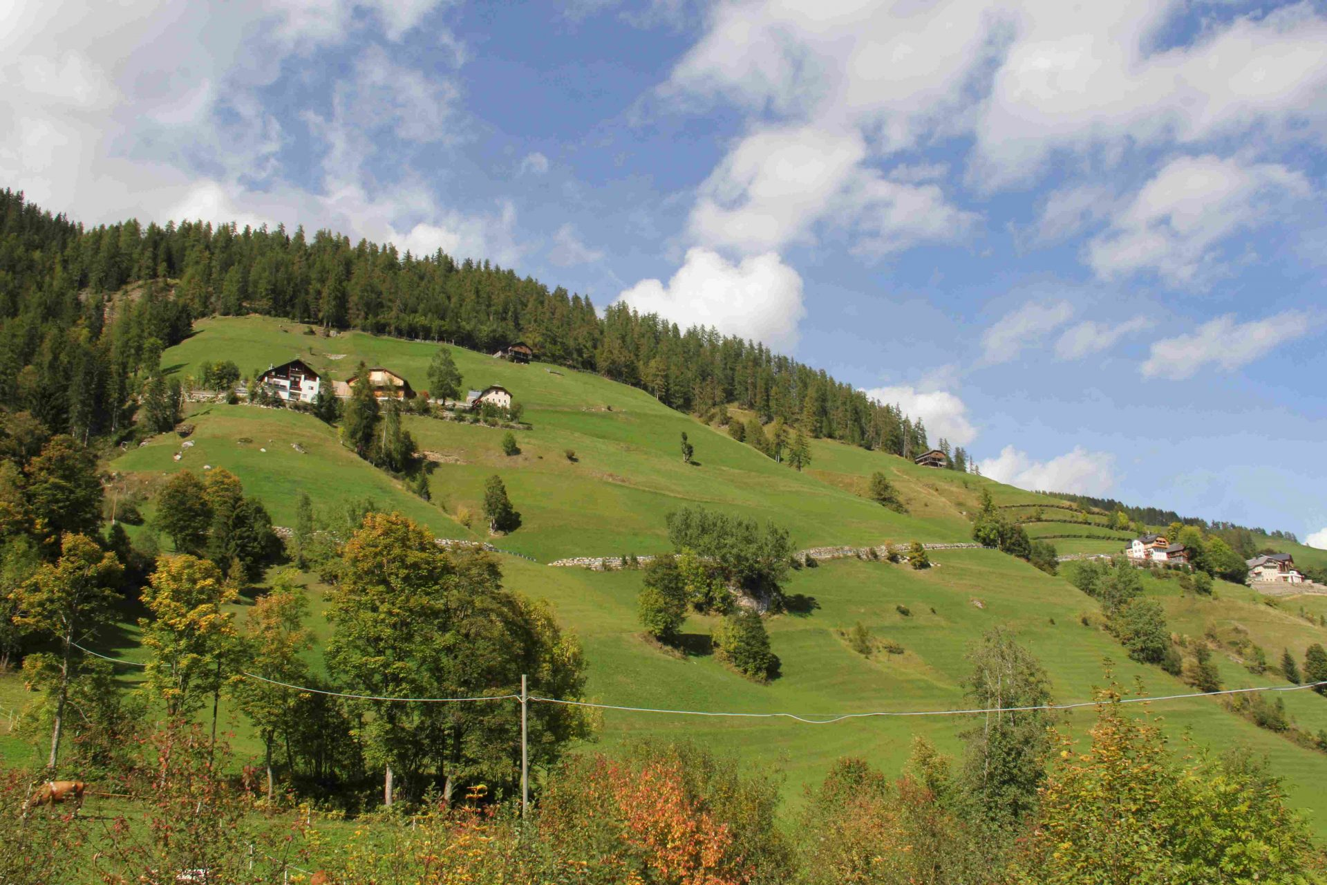 Berglandwirtschaft in Lungiarü I ©Leonhard Draschl I Bergsteigerdörfer