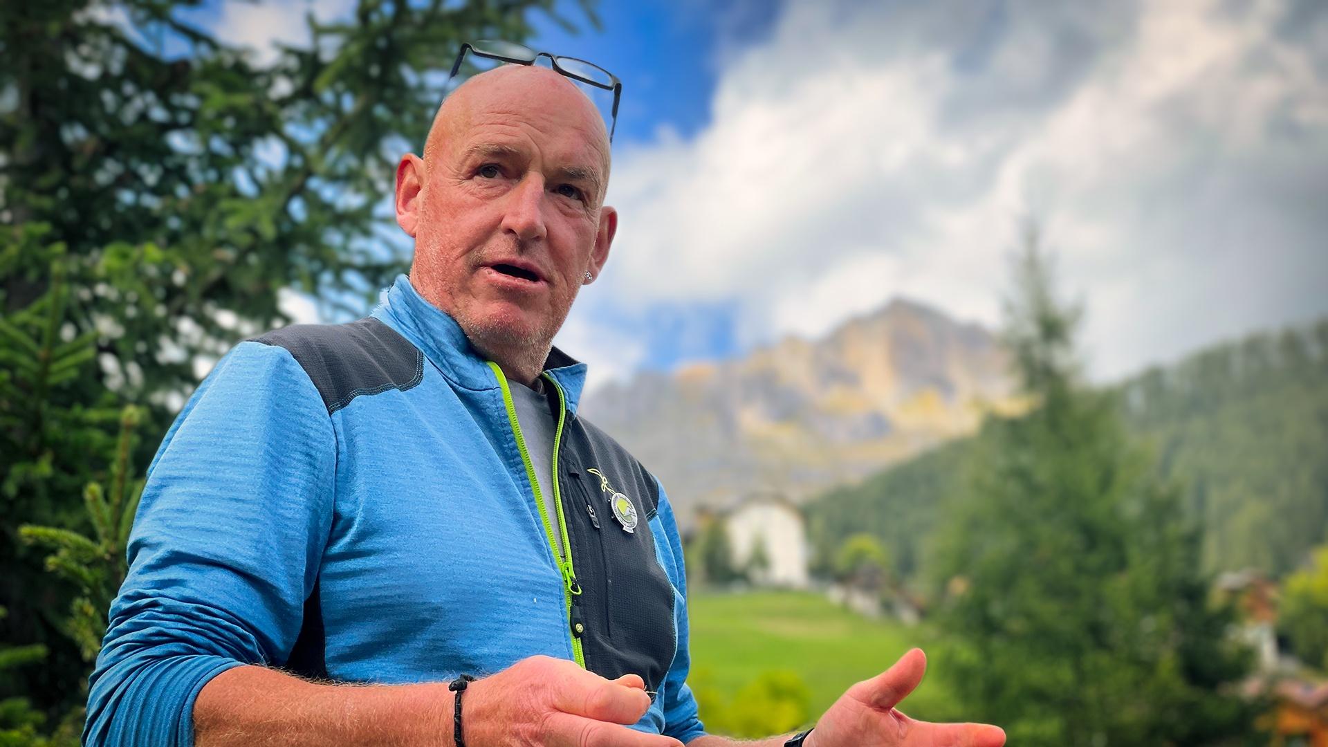 Christof Alfreider, Ideator Bergsteigerdorf Lungiarü I ©Ingo Ortner, Bergsteigerdorf Mauthen I Bergsteigerdörfer
