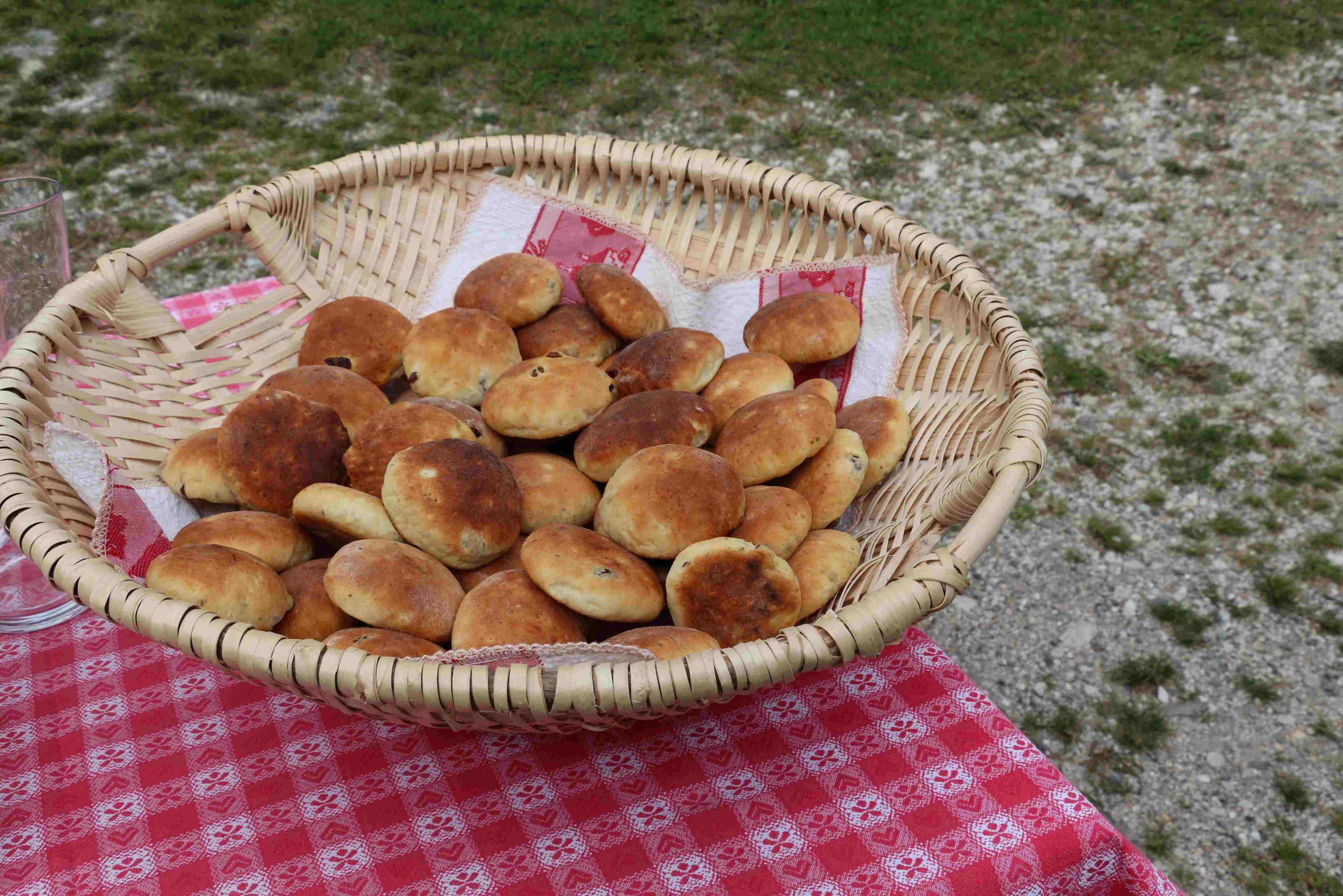Ladinische Spezialität Crosti I ©Alfred Moling I Bergsteigerdörfer