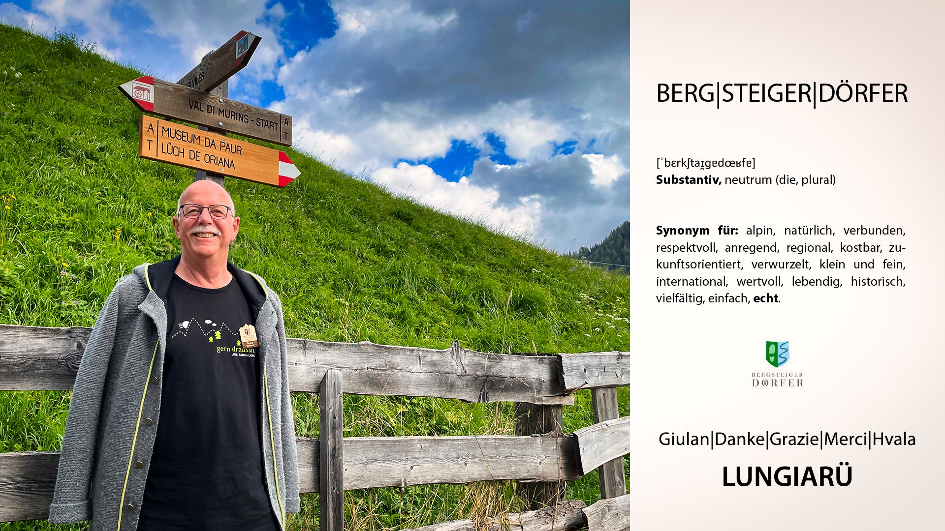 Georg Simeoni, AVS-Präsident I ©Ingo Ortner, Bergsteigerdorf Mauthen I Bergsteigerdörfer