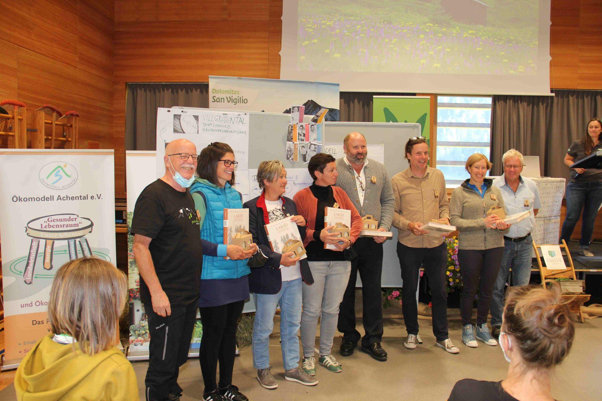 Vertreter präsentierten gute Beispiel aus den Bergsteigerdörfern I ©Leonhard Draschl I Bergsteigerdörfer