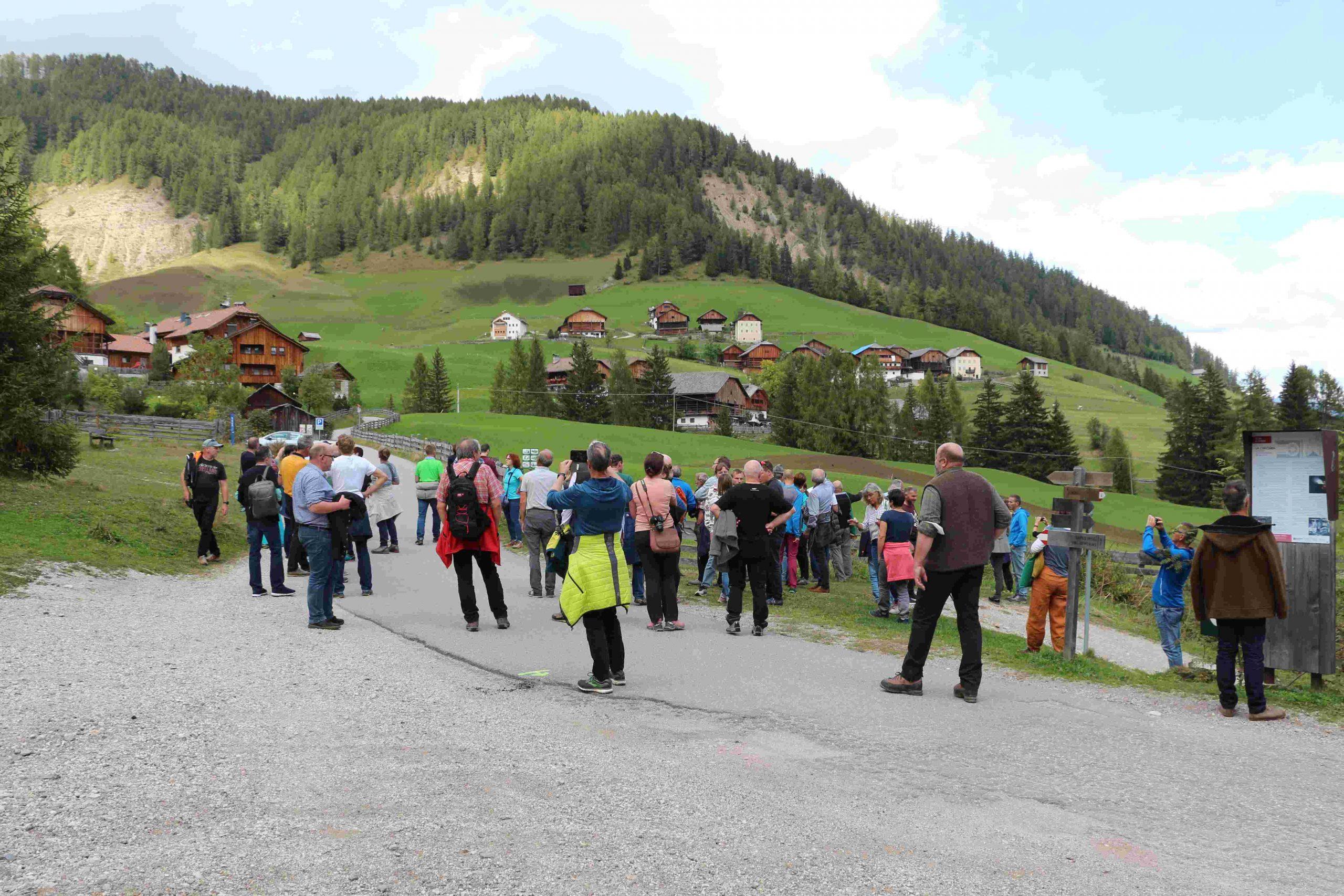 Rundgang Viles I ©Alfred Moling I Bergsteigerdörfer