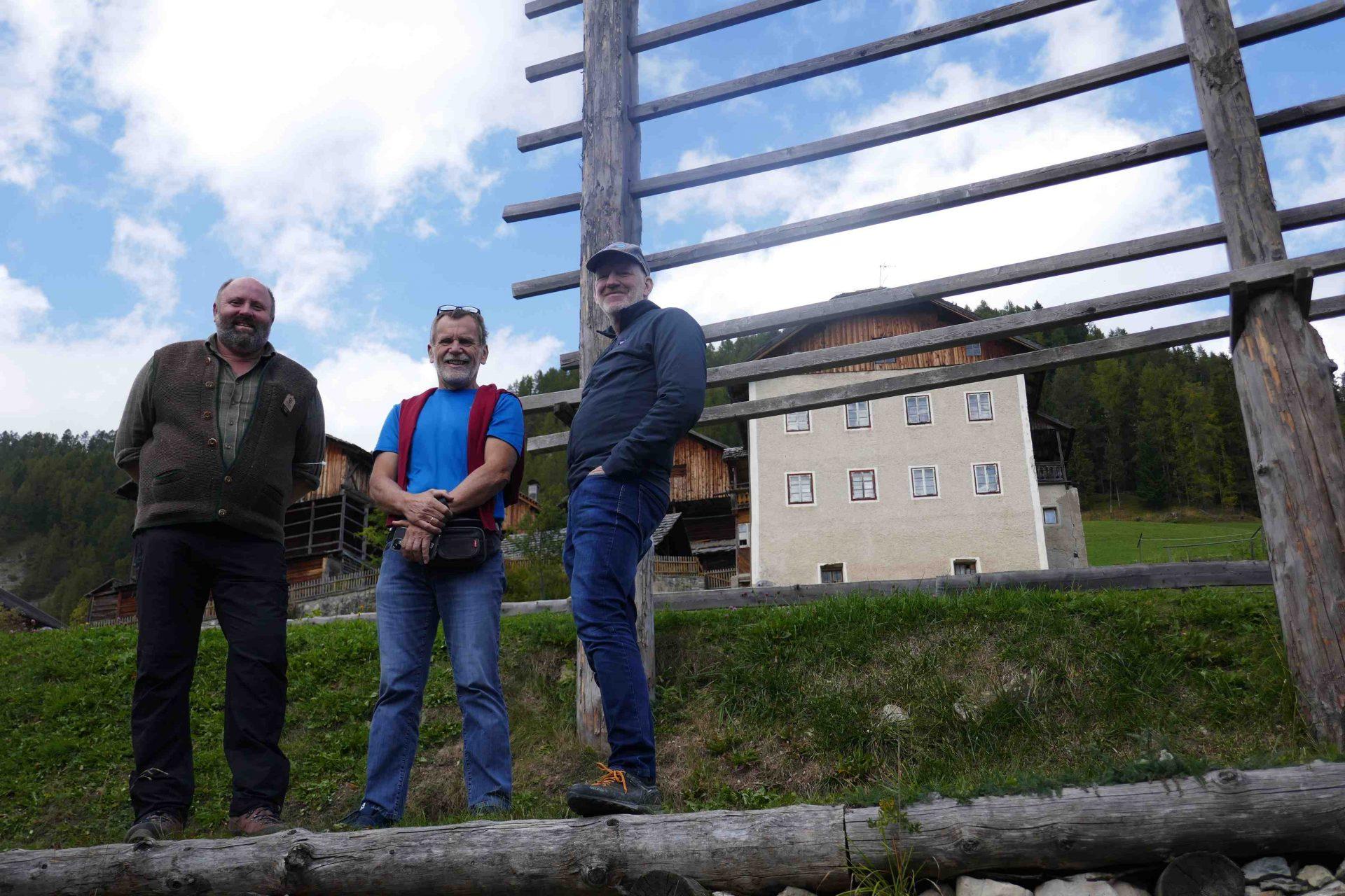 Bürgermeister Trio I ©Anna Pichler I Bergsteigerdörfer