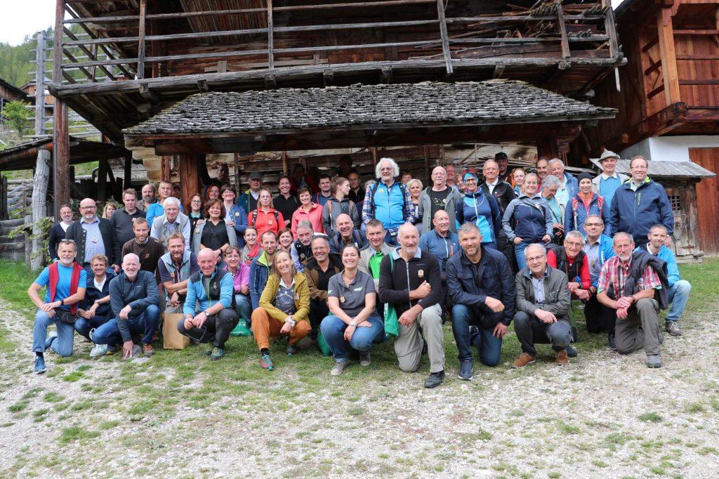 Teilnehmer Jahrestagung Bergsteigerdörfer   (c)Alfred Moling